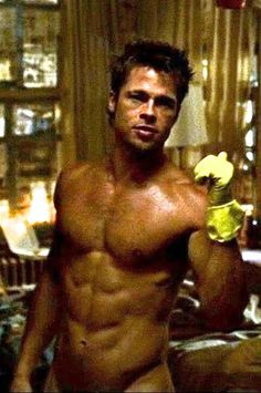 Brad Pitt Fight Club Workout amp Diet Tyler Durden Routine