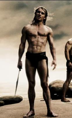 Michael Fassbender In 300 Nattyorjuice